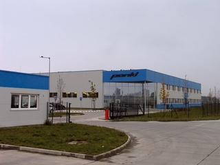 Pankl Automotive Topoľčany - production hall with administration, new building