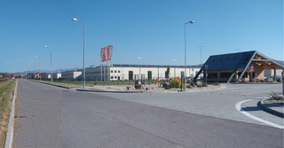 Velux Partizánske - production hall with administration, new building