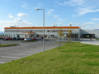 Visteon Ilava I. - production hall with administration, new building